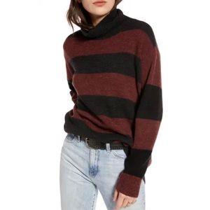 Treasure & Bond Wide Stripe Tunic Sweater